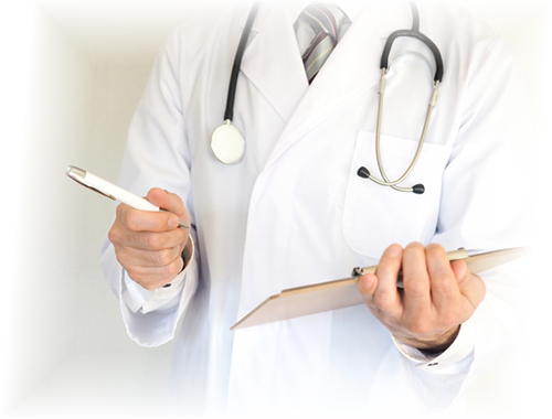 ご都合をお伺い、医師の訪問日を決定します